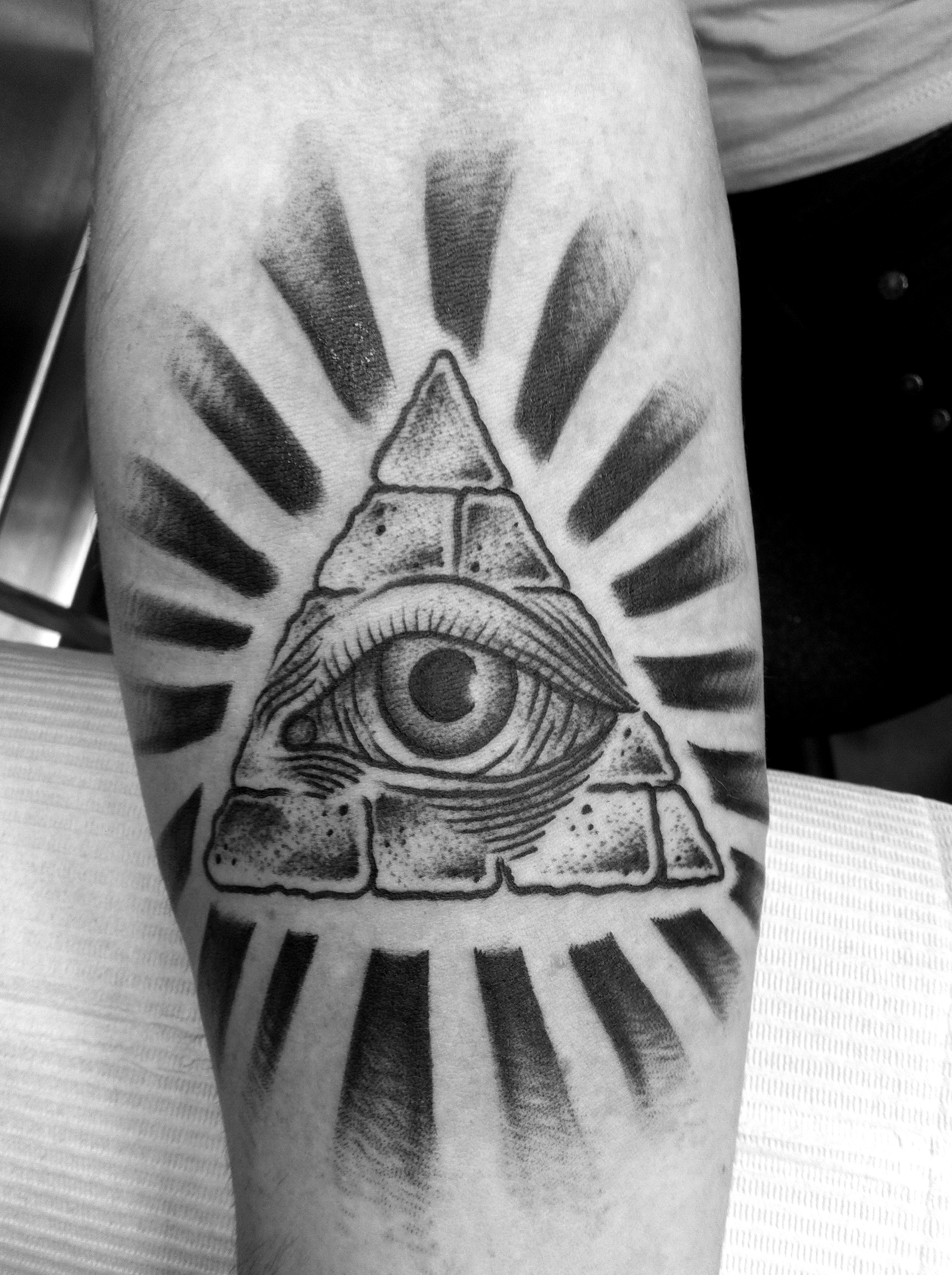 All Seeing Eye Tattoo: All Seeing Eye