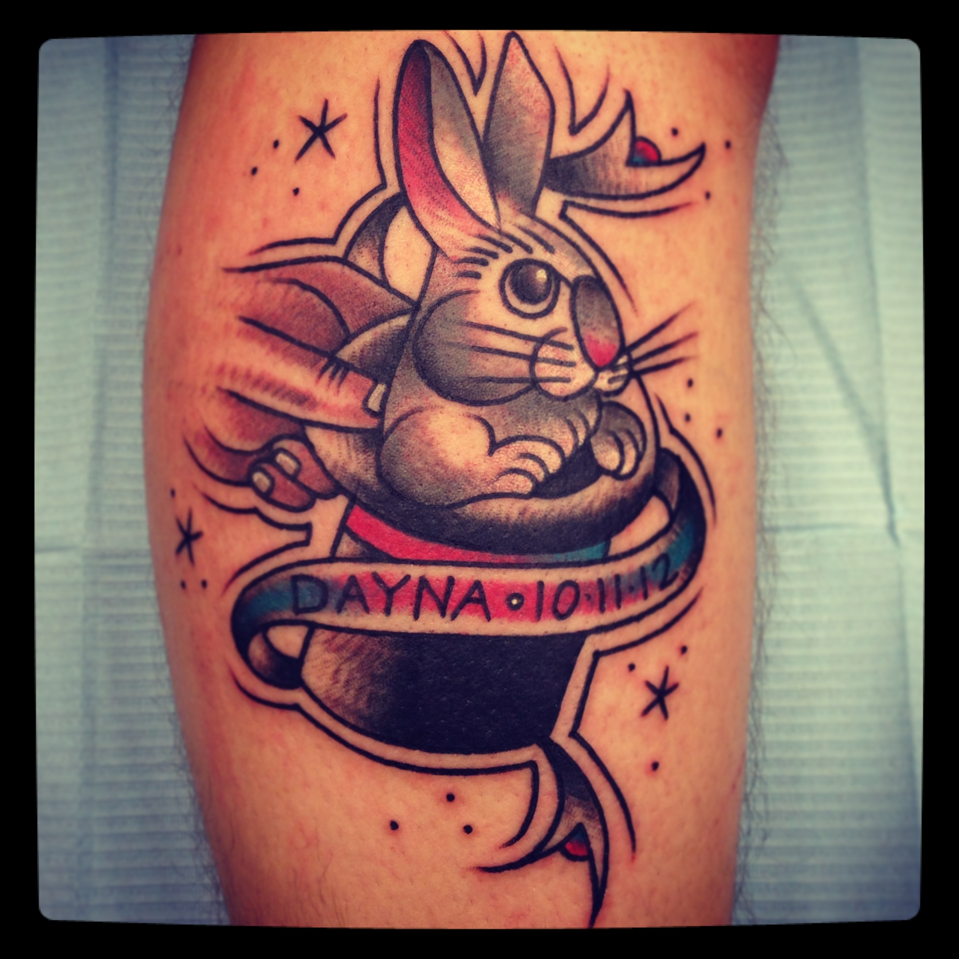 Magician And Tattoos Hat Rabbit