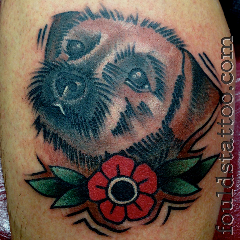 border terrier foulds tattoo. Black Bedroom Furniture Sets. Home Design Ideas