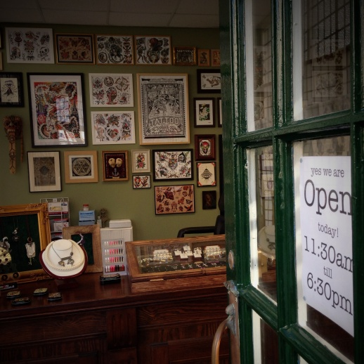 Old Time Tattoo Opens its doors